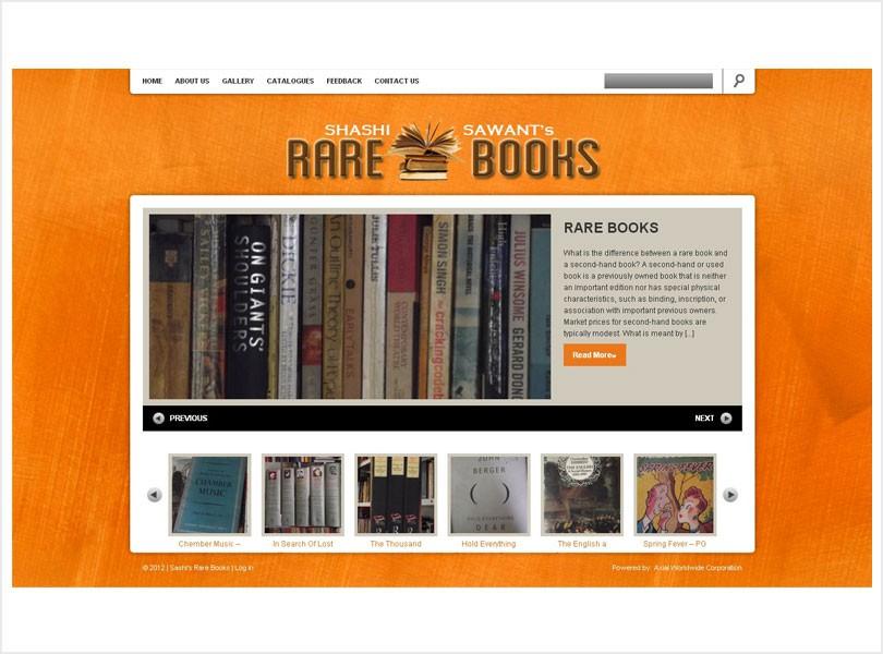 Shashi Sawant's Rare Books
