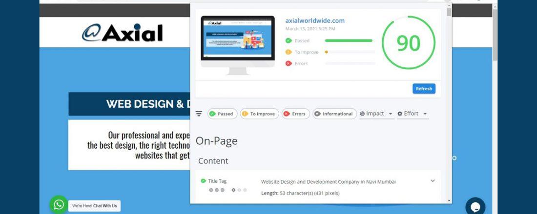 WooRank Website Analysis Tool